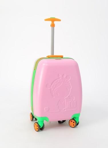 My Bag Valiz Pembe